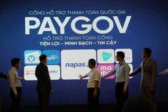 Thanh toán dịch vụ công bằng VNPAY qua cổng thanh toán PayGov