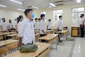 Đà Nẵng: Thí sinh thi tốt nghiệp THPT phải đeo khẩu trang