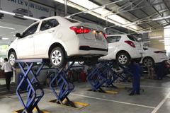 Loạt ưu đãi bảo dưỡng xe dành cho khách hàng Hyundai Lê Văn Lương