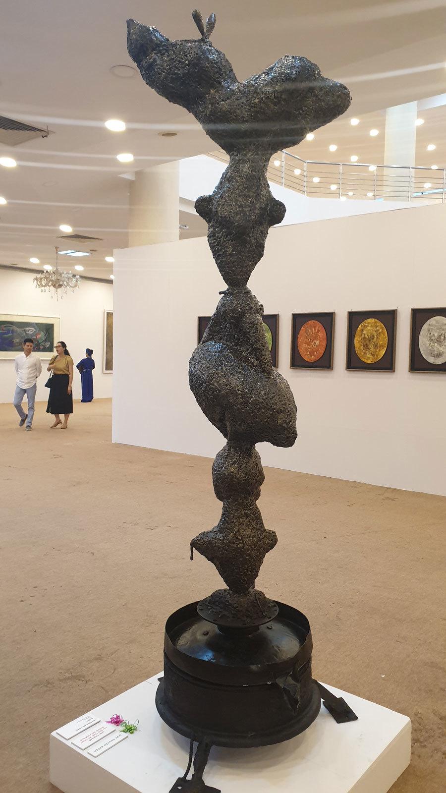 91 tác phẩm trưng bày tại Festival Mỹ thuật trẻ 2020