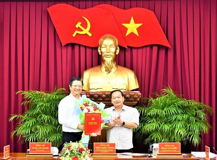 Ông Trương Quang Hoài Nam giữ chức Phó trưởng Ban Đối ngoại Trung ương