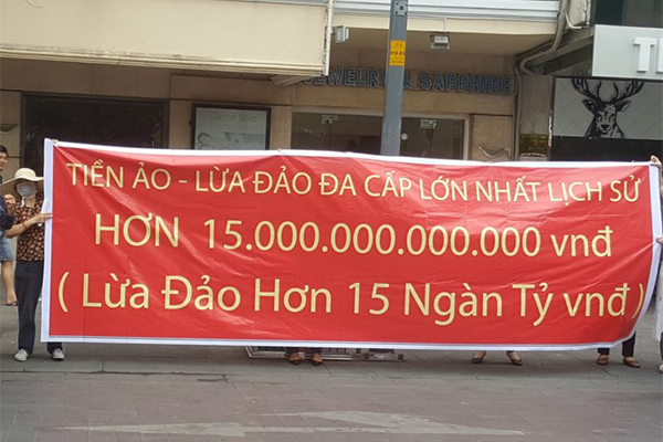 Mờ mắt với lãi khủng, nhà đầu tư Việt bị 'hút máu' bởi tiền ảo đa cấp