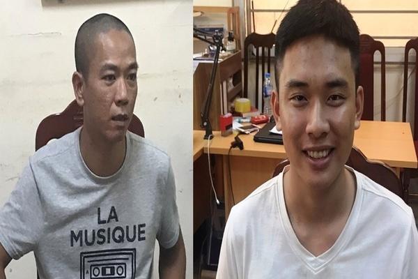 Bắt hai kẻ cướp ngân hàng BIDV chi nhánh Ngọc Khánh