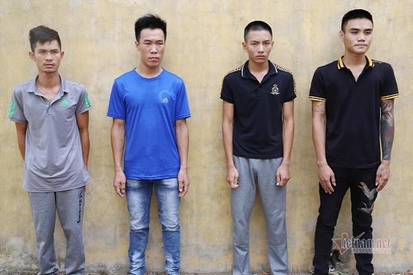 Bắt băng nhóm bảo kê, trấn lột tiền các hộ kinh doanh ở Hà Tĩnh
