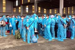 Hơn 100 người mắc Covid-19 từ Guinea Xích đạo hồi hương an toàn