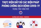 Bộ Y tế khuyến cáo 9 biện pháp mới nhất phòng Covid-19