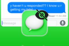 Cách tắt thông báo đã xem trên iMessage của iPhone