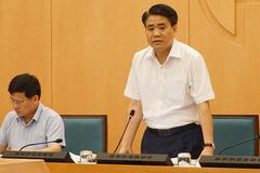 Ông Nguyễn Đức Chung: Hà Nội từ nay đến 12/8 là cao điểm chống dịch