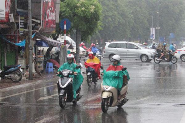 Dự báo thời tiết 30/7, miền Bắc mưa giông kèm hiện tượng nguy hiểm