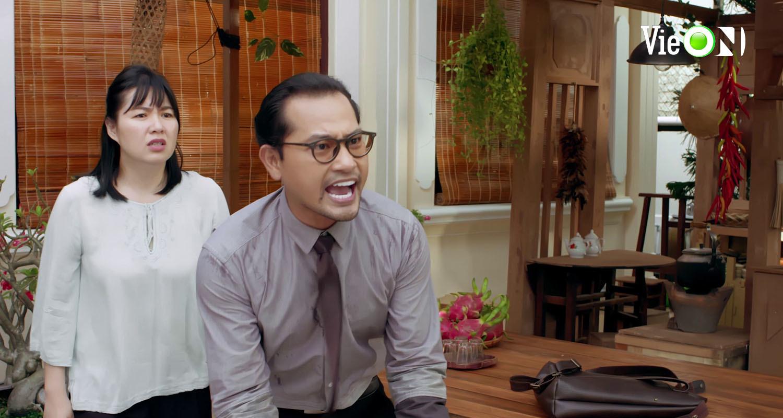 'Gạo nếp gạo tẻ 2' tập 21, Bảo Trâm tát chồng vì dám xúc phạm gia đình