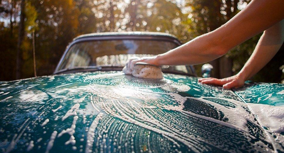 Những sai lầm nên tránh khi rửa ô tô tại nhà