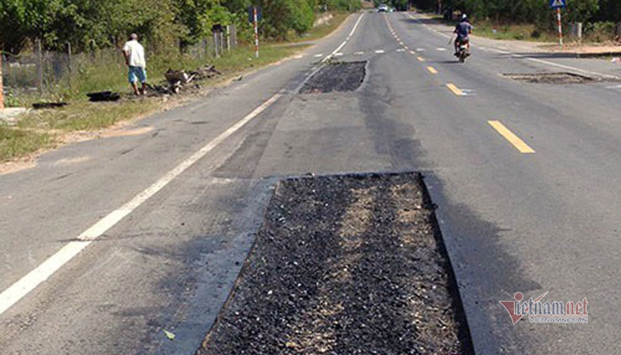Nhiều sai phạm tại dự án tuyến tránh QL55 ở Bình Thuận