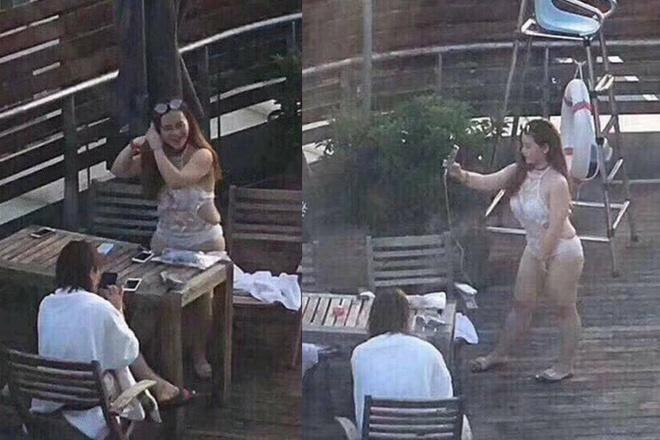 Hot girl TQ xóa trang cá nhân sau khi lộ thân hình ngấn mỡ ngoài đời