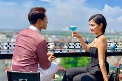 MC Thu Hoài kết đôi Thanh Sơn trong 'Tình yêu và tham vọng'