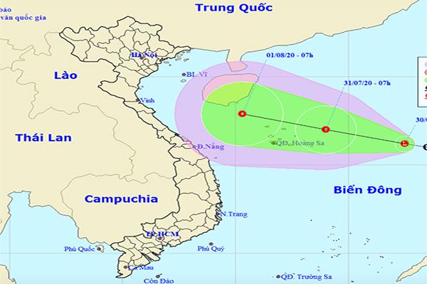 Áp thấp nhiệt đới khả năng hình thành trên Biển Đông sẽ mạnh thêm