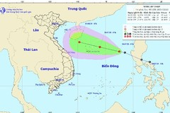 Heavy rain forecast as tropical depression forms in East Sea
