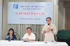Trẻ hoá Ban chấp hành Hội nhạc sĩ Việt Nam