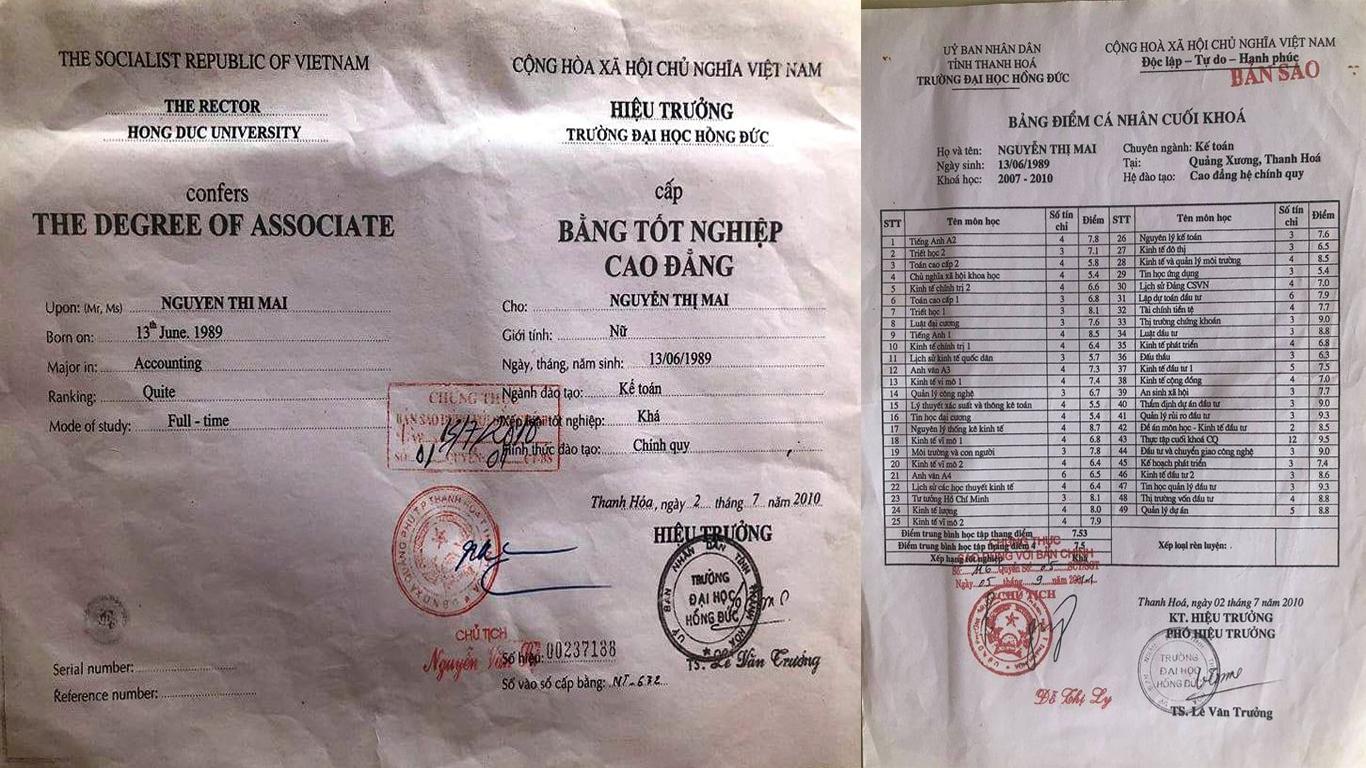 Cả loạt cán bộ Quỹ tín dụng ở Thanh Hóa bị tố dùng bằng giả