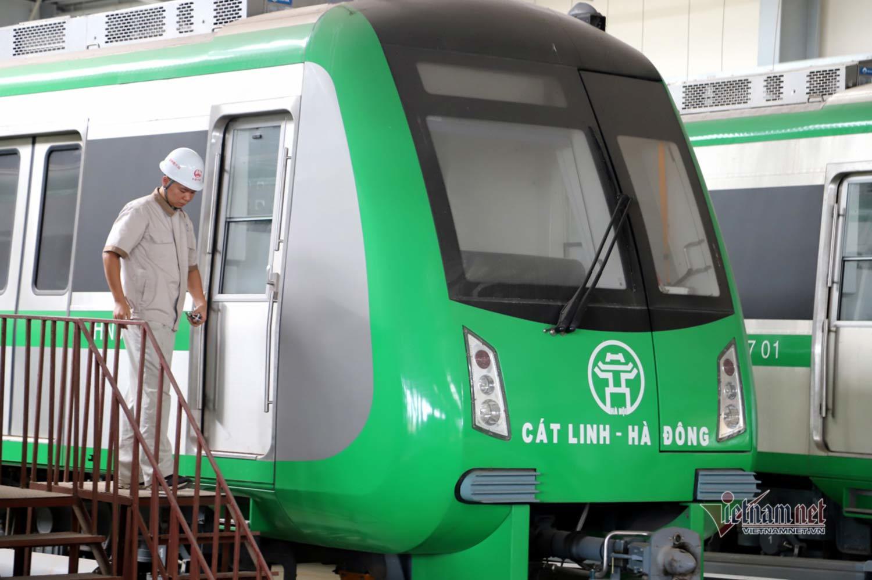 Chuyên gia Pháp chưa sang, đường sắt Cát Linh – Hà Đông không thể chạy thử