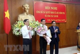 Ông Phạm Viết Thanh giữ chức Bí thư Tỉnh ủy Bà Rịa-Vũng Tàu