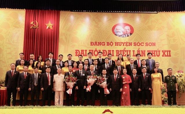 Ông Phạm Quang Thanh làm Bí thư huyện Sóc Sơn