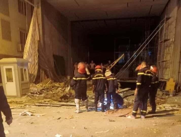 Sập giàn giáo ở phố Nguyễn Công Trứ, 3 người tử vong