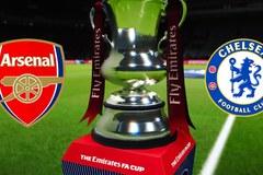 Lịch thi đấu chung kết FA Cup: Arsenal đại chiến Chelsea