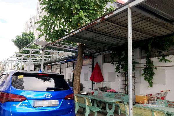 Cưỡng chế công trình không phép tại chung cư xây 'chui' 43 căn hộ