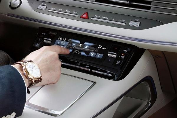 Hệ thống điều hòa thông minh mới trên xe Hàn Quốc