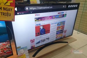 Nhiều mẫu TV 43 inch giảm giá sốc 3 - 4 triệu đồng
