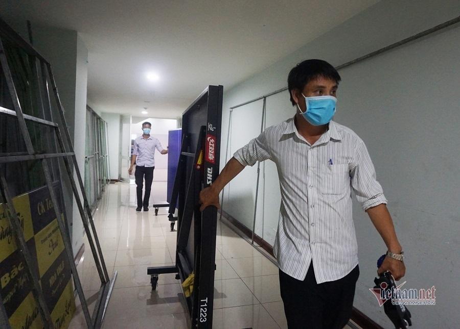 Di dời tài sản ở cung thể thao, lập BV dã chiến chống Covid-19 tại Đà Nẵng