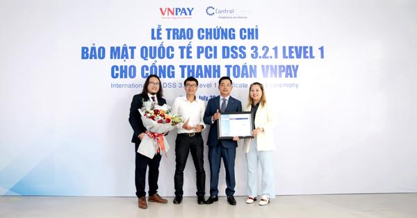 VNPAY đạt chứng chỉ tiêu chuẩn bảo mật quốc tế