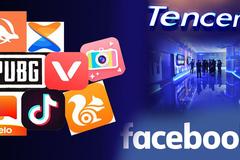 Ấn Độ cấm tiếp 47 ứng dụng TQ, Facebook bị Tencent soán ngôi
