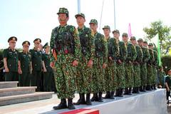 Việt Nam - Campuchia giao nhận bản đồ địa hình biên giới