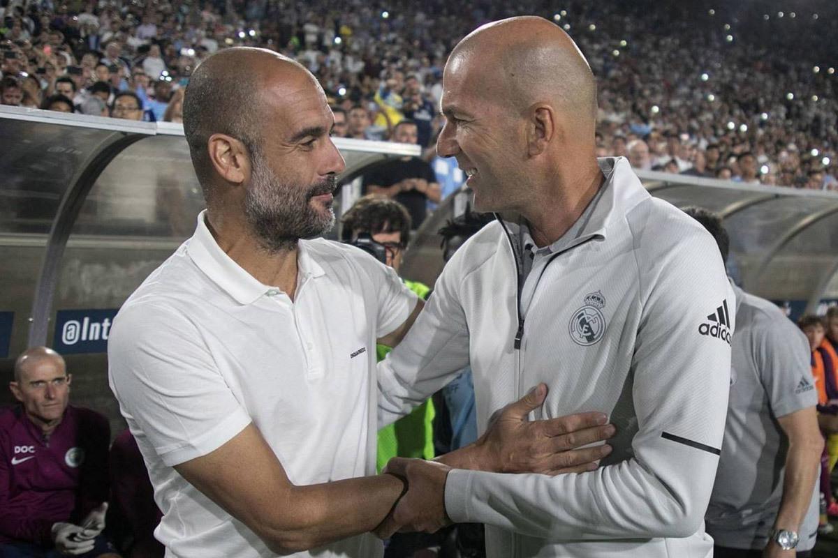 Pep khen Zidane hết lời trước thềm đại chiến C1