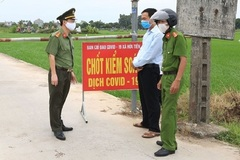 Thái Bình phong tỏa thôn Bùi vì có người nhiễm Covid-19