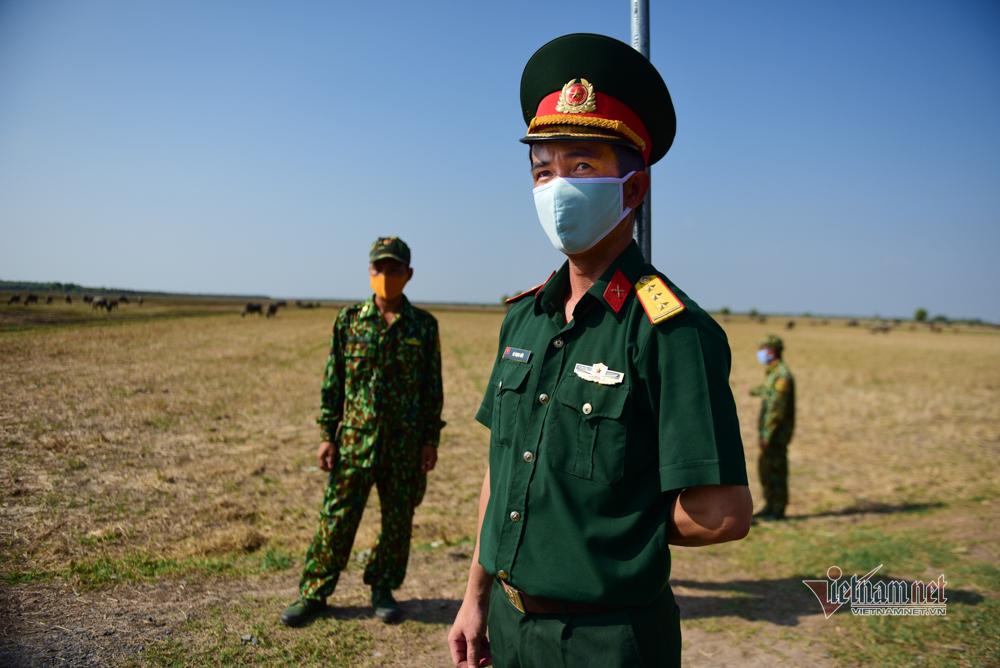 Lập 580 chốt kiểm soát biên giới Tây Nam phòng chống dịch Covid-19