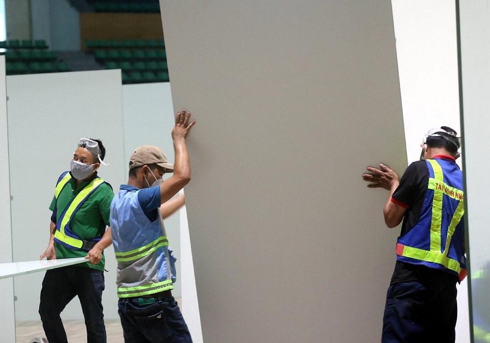 Hình ảnh bệnh viện dã chiến điều trị Covid-19 tại Đà Nẵng