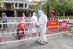 Quảng Nam phỏng tỏa hàng loạt khu vực nguy cơ cao lây nhiễm Covid-19
