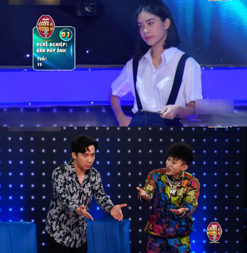 Trấn Thành 'nổi da gà' với giọng hát của cô gái 14 tuổi