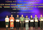 7 HCV trao LH sân khấu Hình tượng người chiến sĩ Công an nhân dân