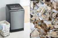 Người đàn ông làm nát gần 450 triệu vì quay tiền trong máy giặt để diệt khuẩn