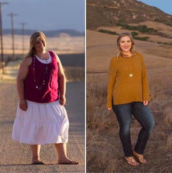Cô gái giảm gần 60 kg một năm nhờ duy trì 5 thói quen