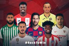 Lịch thi đấu bóng đá La Liga 2020-2021