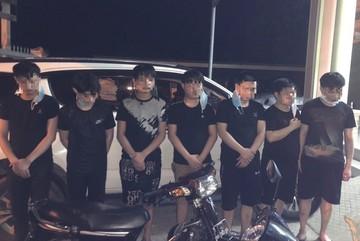 Bắt giữ ô tô chở 7 người Trung Quốc đến khu vực biên giới Tây Ninh