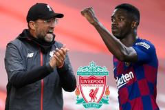 Liverpool mua Ousmane Dembele thay thế Salah