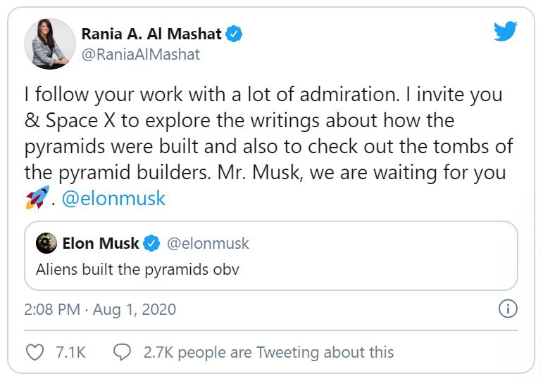 Elon Musk lại 'gây bão' với phát ngôn về kim tự tháp Ai Cập