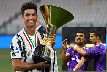 Ronaldo kéo bạn thân Casemiro sang Juventus