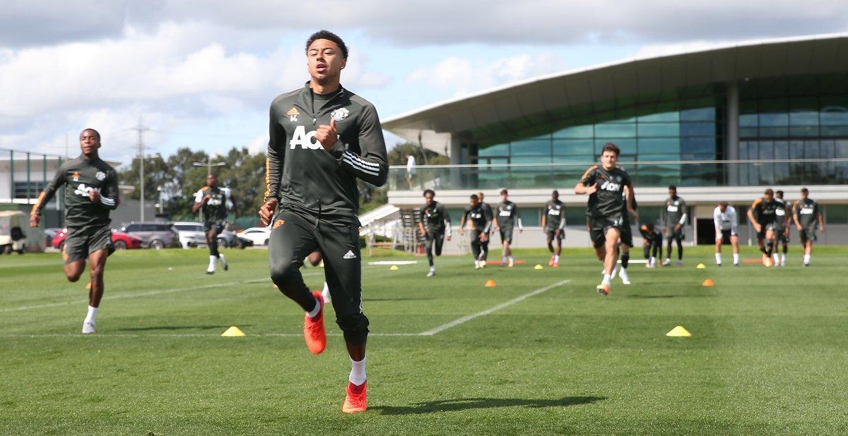 Cầu thủ MU hứng khởi luyện công chinh phục Europa League