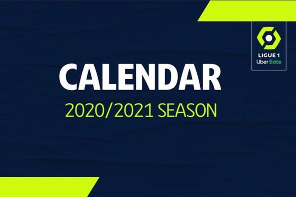 Lịch thi đấu bóng đá Ligue 1 2020-2021